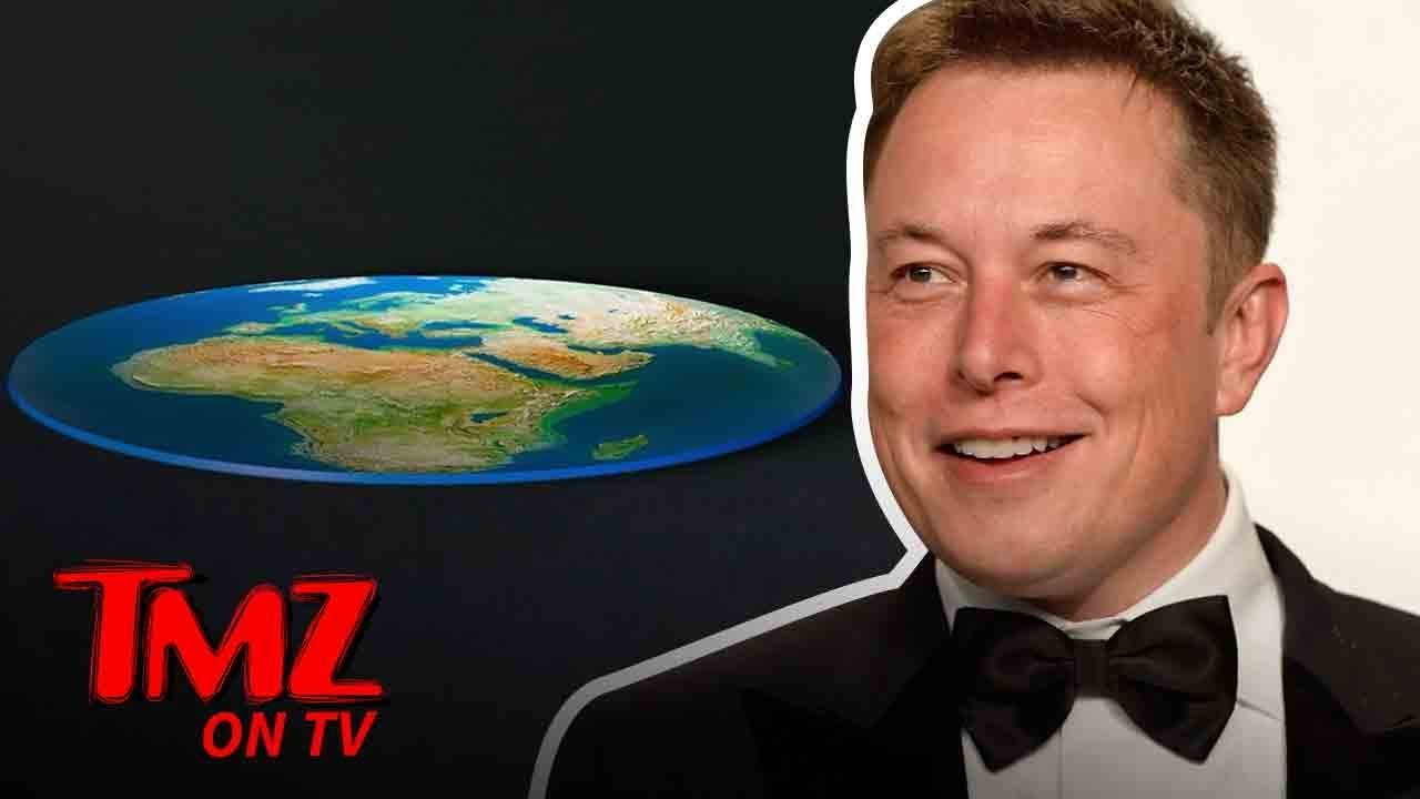 Elon Musk Owns Flat earther's! | TMZ TV 3