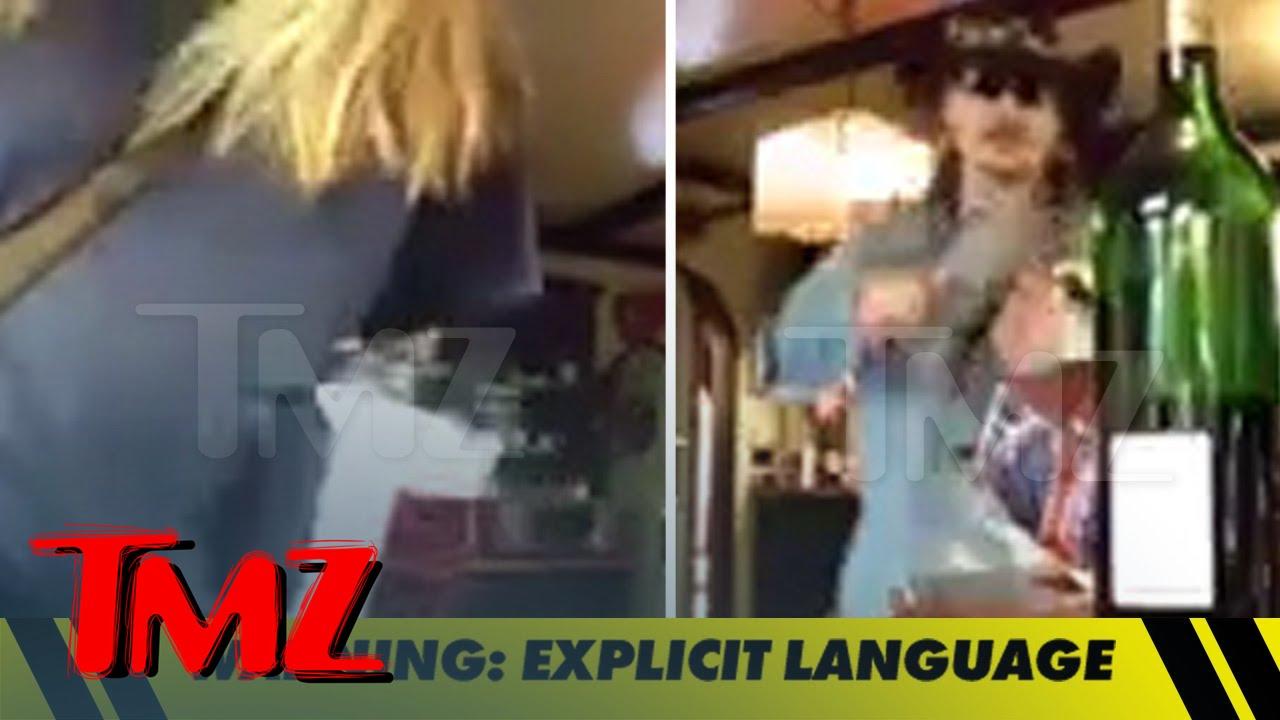 Johnny Depp Goes Off on Amber Heard... Hurls Wine Glass | TMZ 3