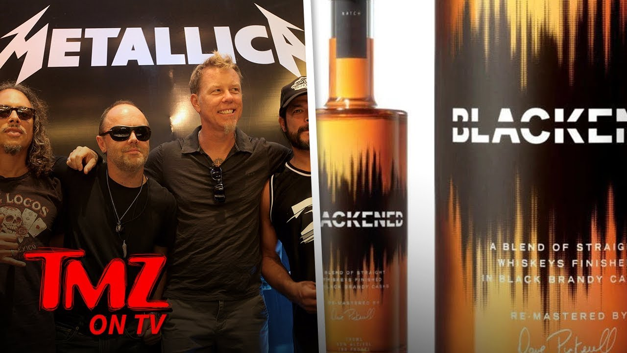 Metallica Created Their Own Whiskey! | TMZ TV 3