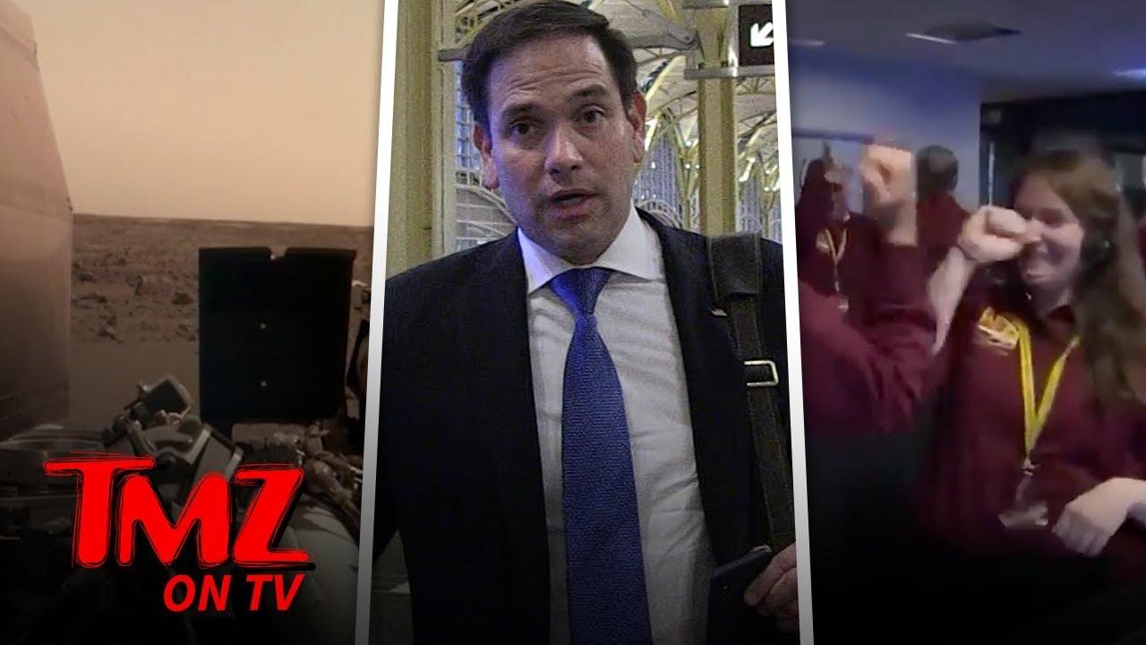 Marco Rubio Praises NASA's Mars Landing | TMZ TV 5