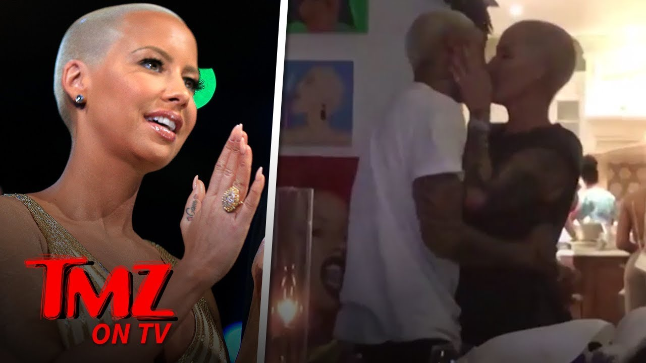 Amber Rose's New BF Throws Her a Surprise Birthday Party | TMZ TV 2