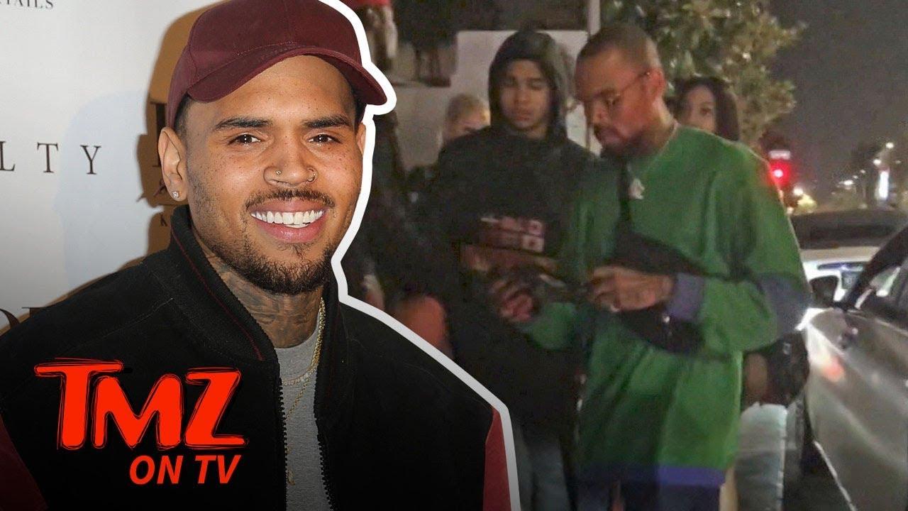 Chris Brown's Temper Heats Up With Valet | TMZ TV 3