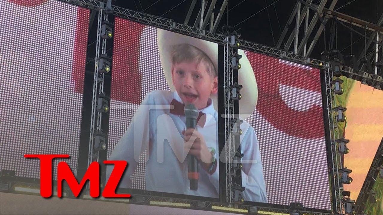 Yodeling Kid Mason Ramsey Performs at Coachella | TMZ 5