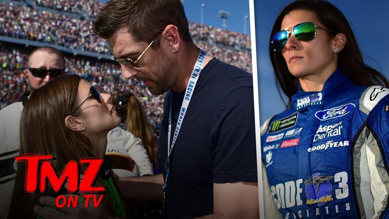 Danica Patrick Says Aaron Rodgers Initially Hit On Her Using 'Dumb and Dumber' Lines | TMZ TV 5