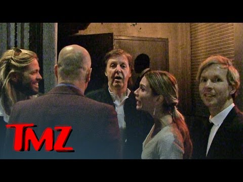 Paul McCartney DENIED at Grammy Party | TMZ 3