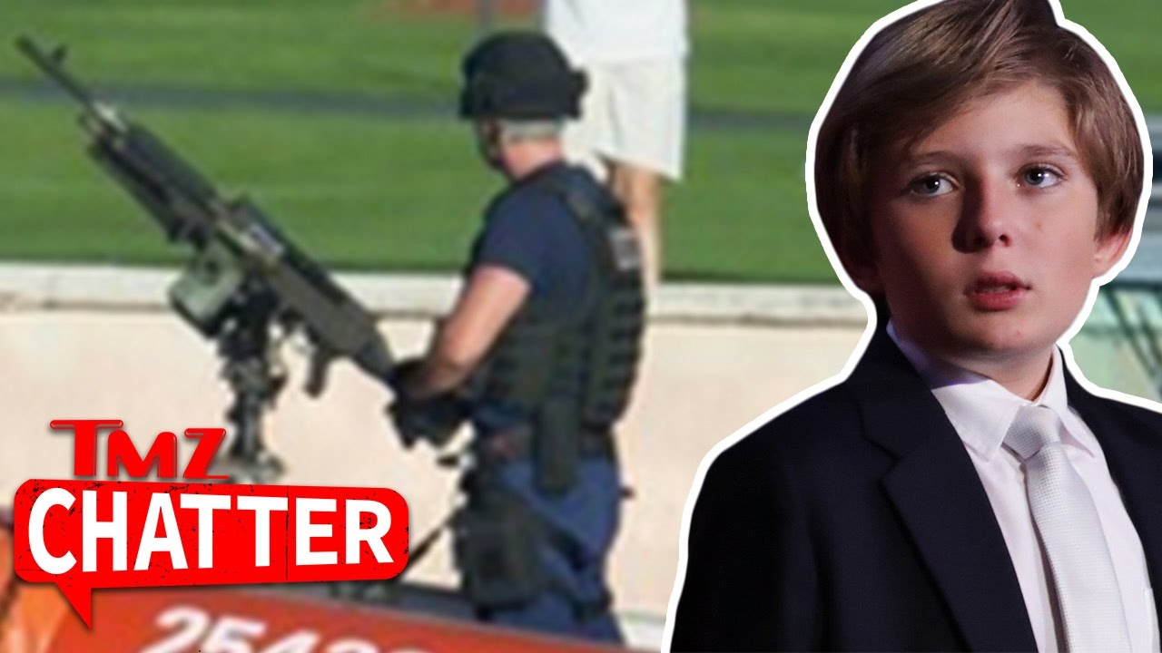 Barron Trump Play Date Covered by Secret Service's Big Guns | TMZ Chatter 1