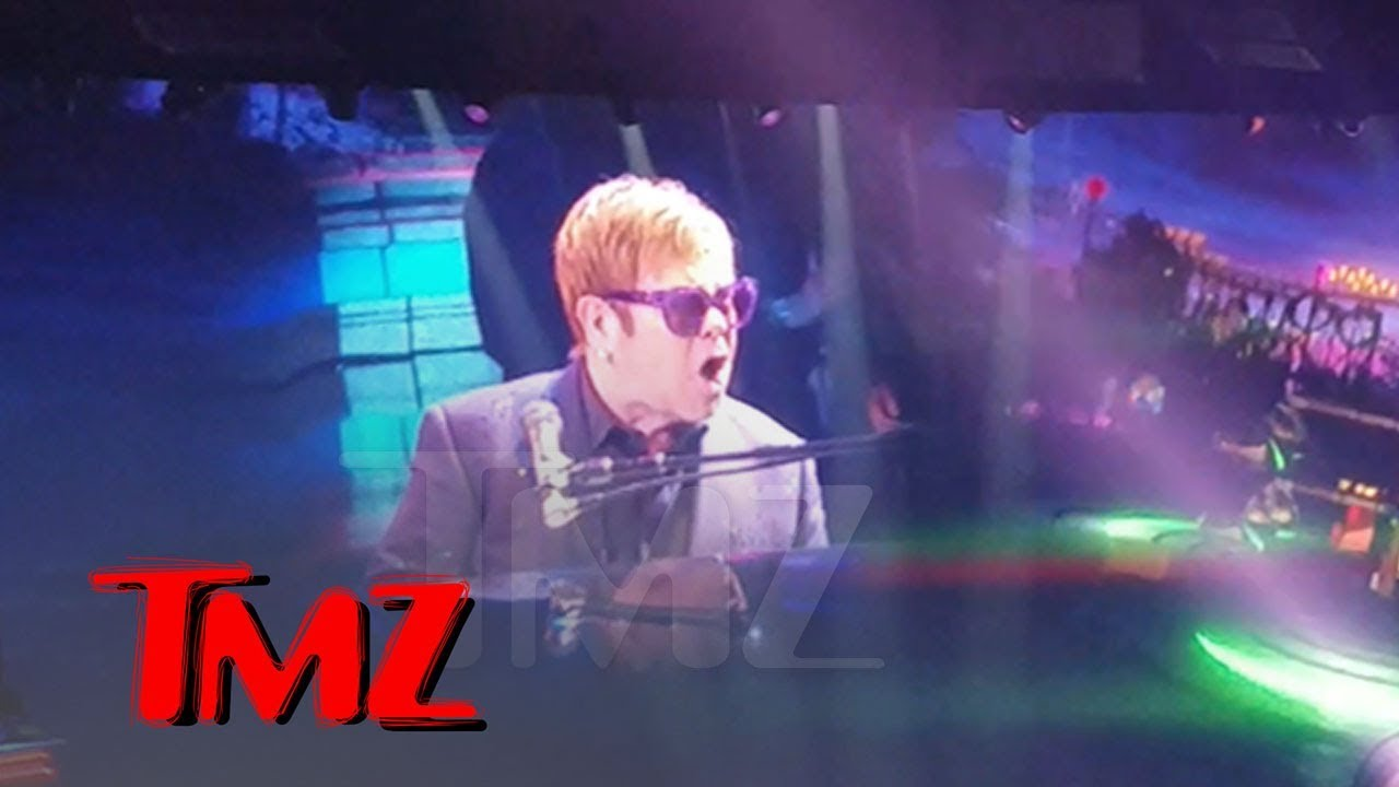 Elton John Loses It When Handsy Fans Get Onstage, Walks Off Vegas Concert | TMZ 5
