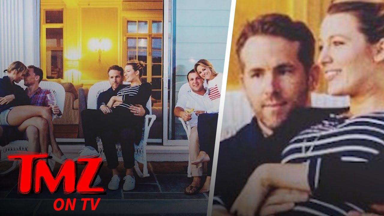 Ryan Reynolds Looks Miserable Hanging Out With Taylor Swift | TMZ TV 3