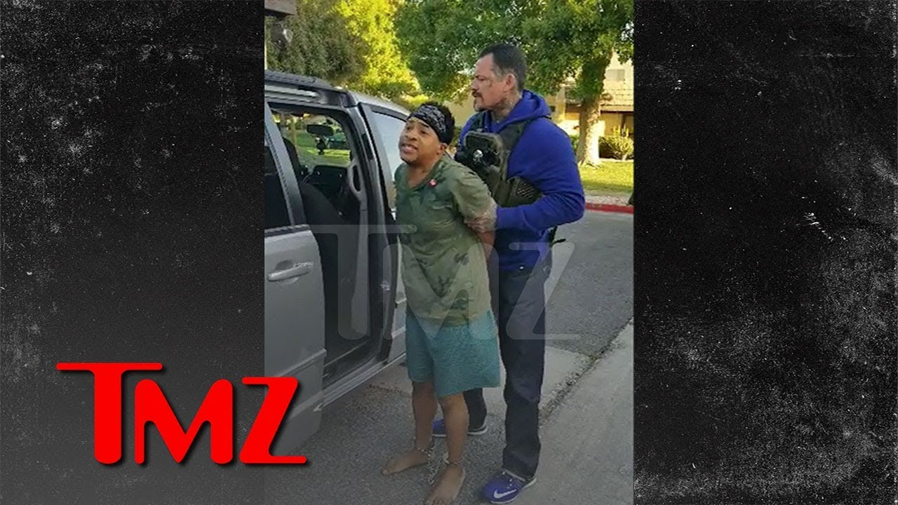Ex-Disney Star Orlando Brown Arrested in His Underwear by Bounty Hunters in Crazy Video | TMZ 3