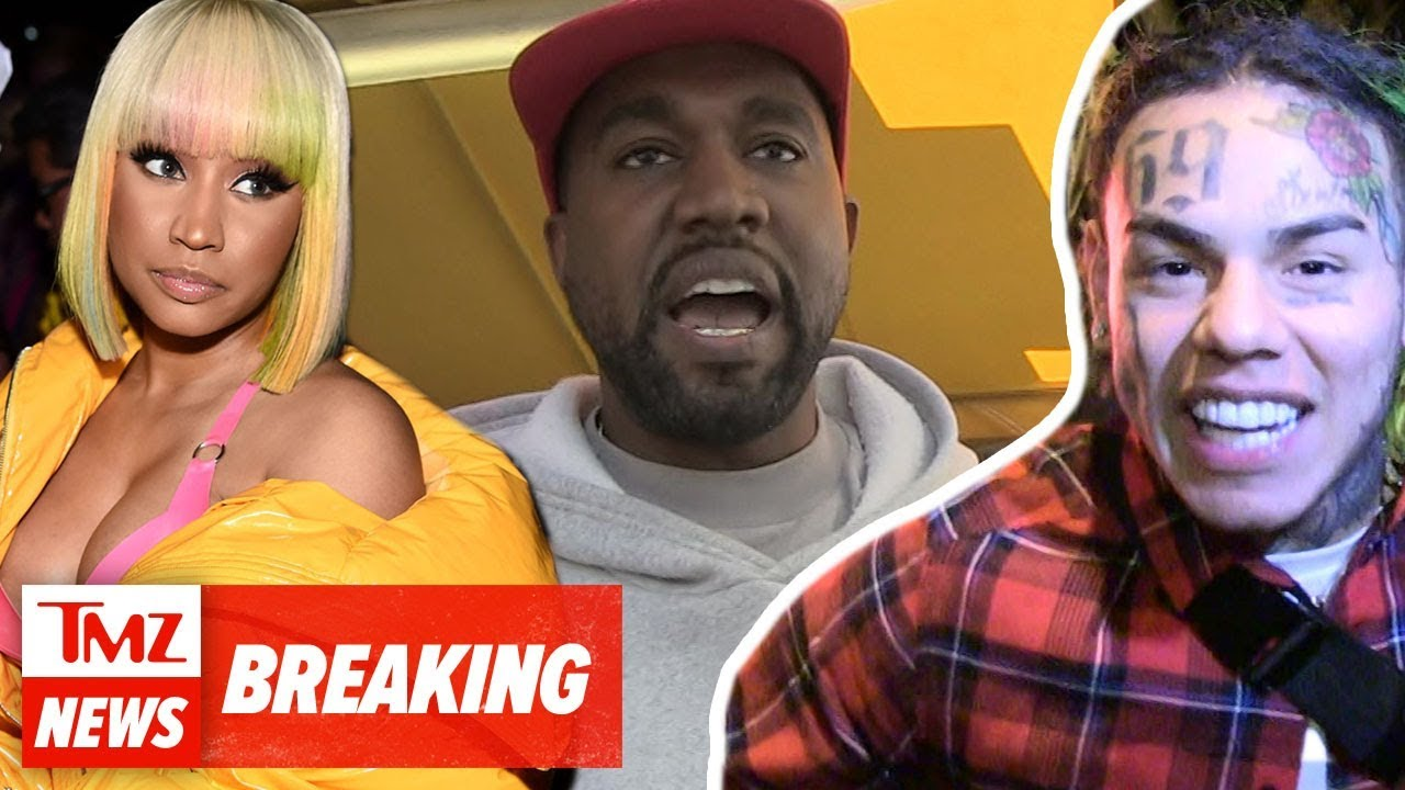 Shots Fired At Tekashi69 Music Video Shoot With Kanye West And Nicki Minaj | TMZ NEWSROOM 4