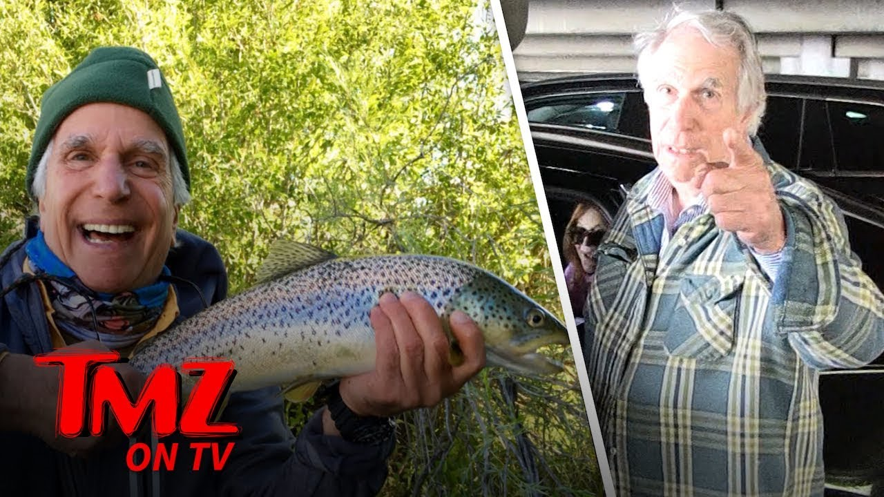 Henry Winkler Loves His Fish! | TMZ TV 5