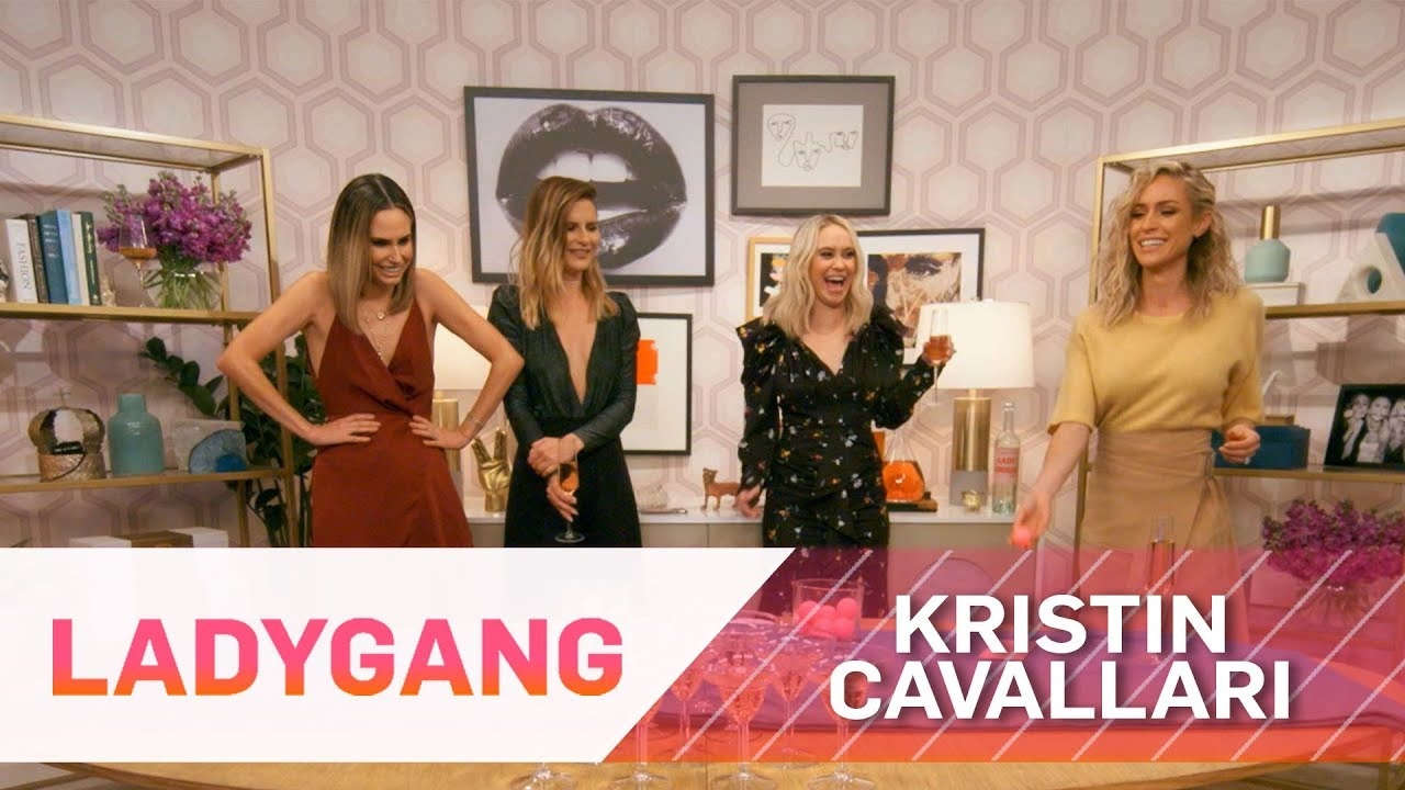 "Kristin Cavallari ""Pops the Bubbly"" With Keltie, Jac & Becca 
