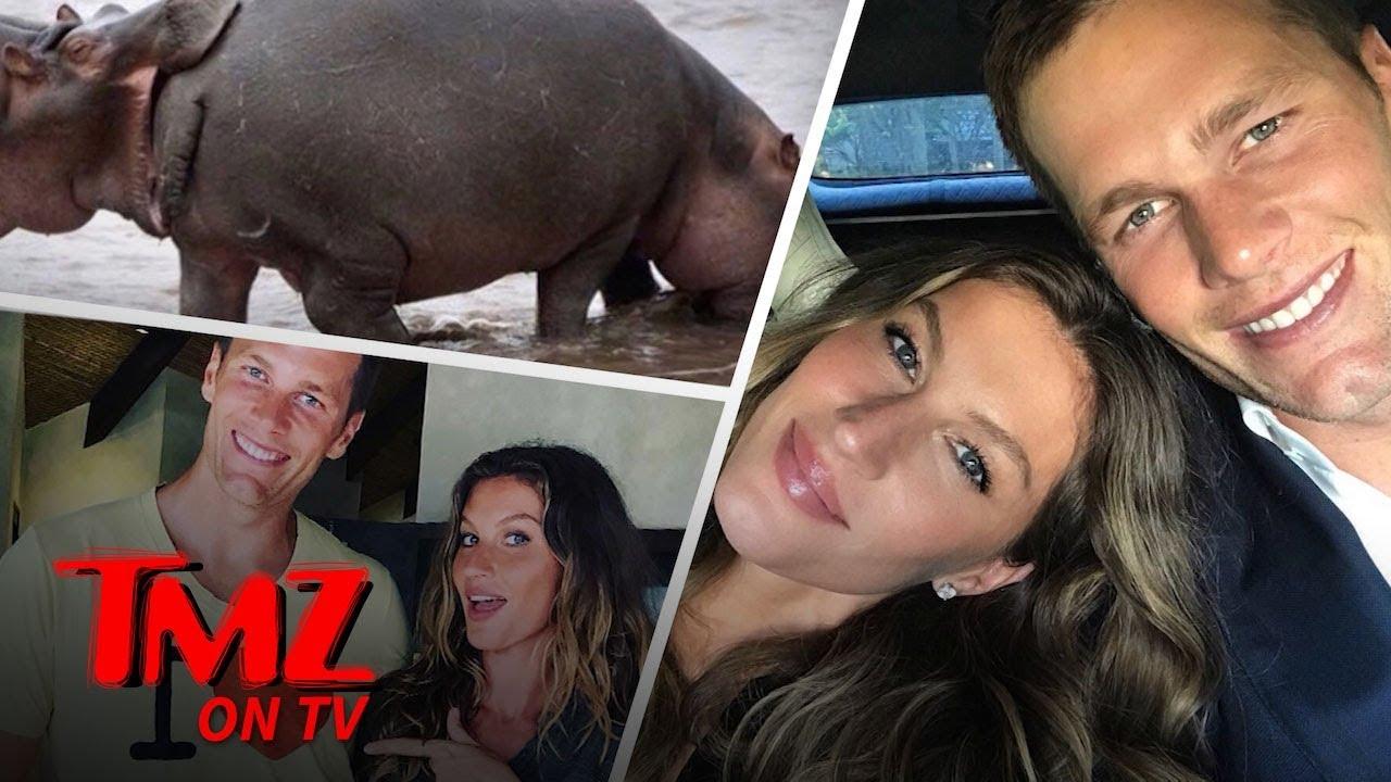 Tom Brady Eats Da Booty | TMZ TV 5