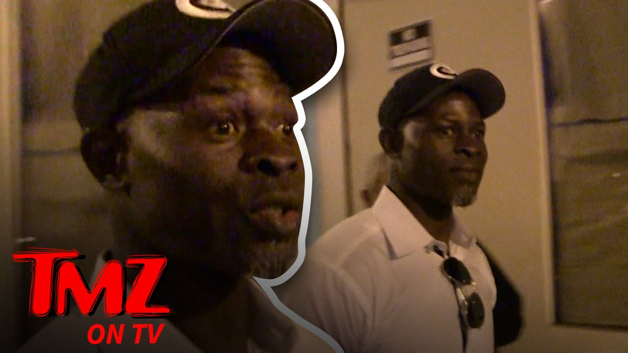 Djimon Hounsou – The End of an Era! | TMZ TV 4