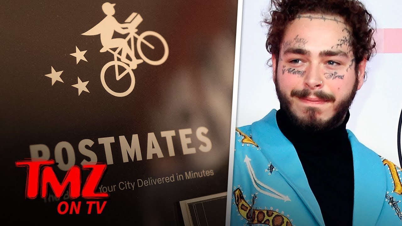 Post Malone Is The King Of Postmates | TMZ TV 5