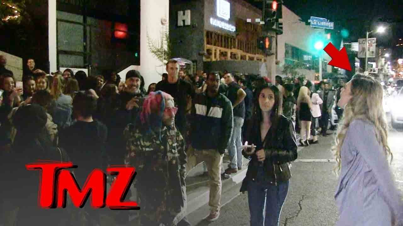 Chanel West Coast Denied At Club, Has A Meltdown! | TMZ 4