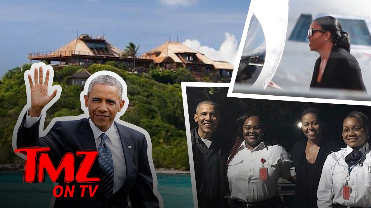 The Obamas Went to the Caribbean | TMZ TV 2