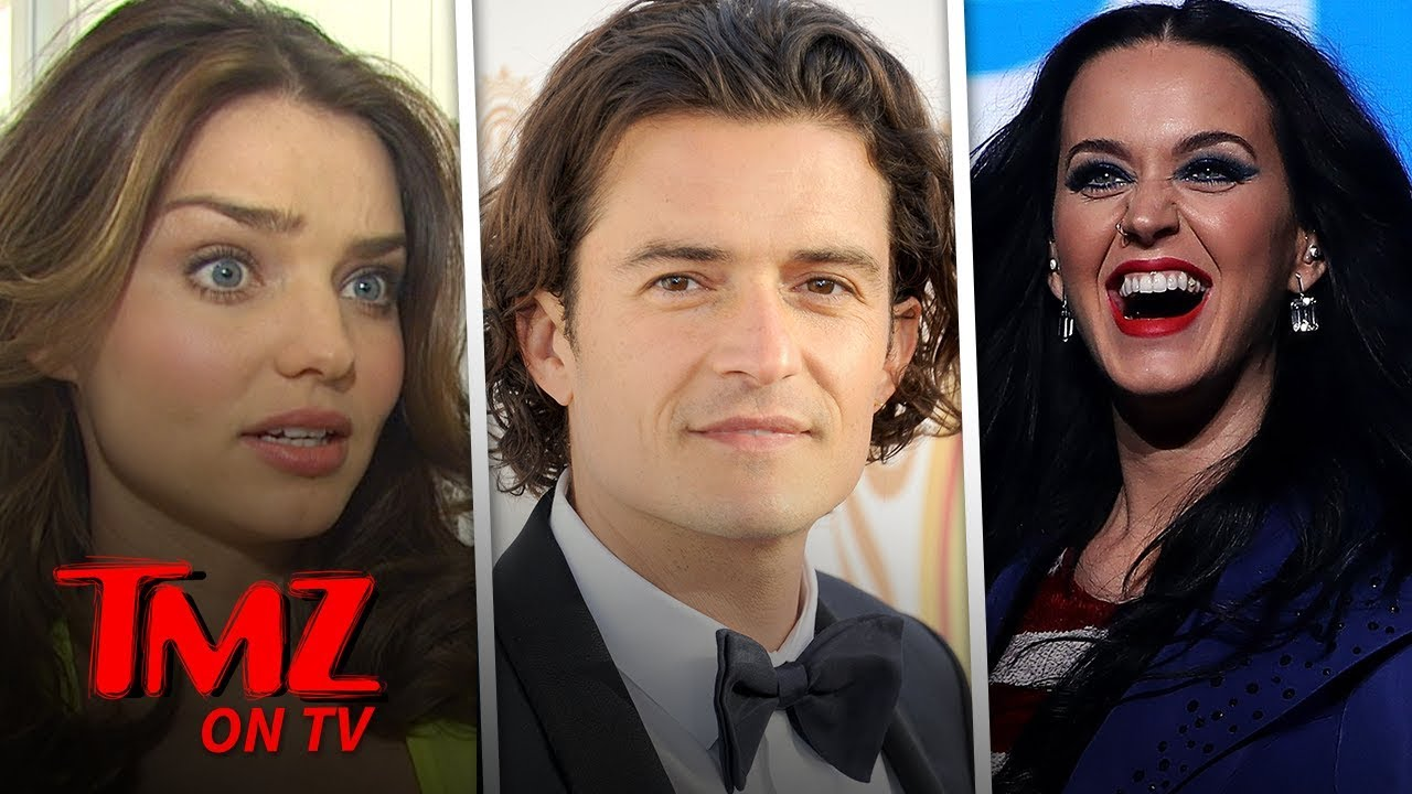 Katy Perry & Orlando Bloom Run Into Orlando's Ex | TMZ TV 4