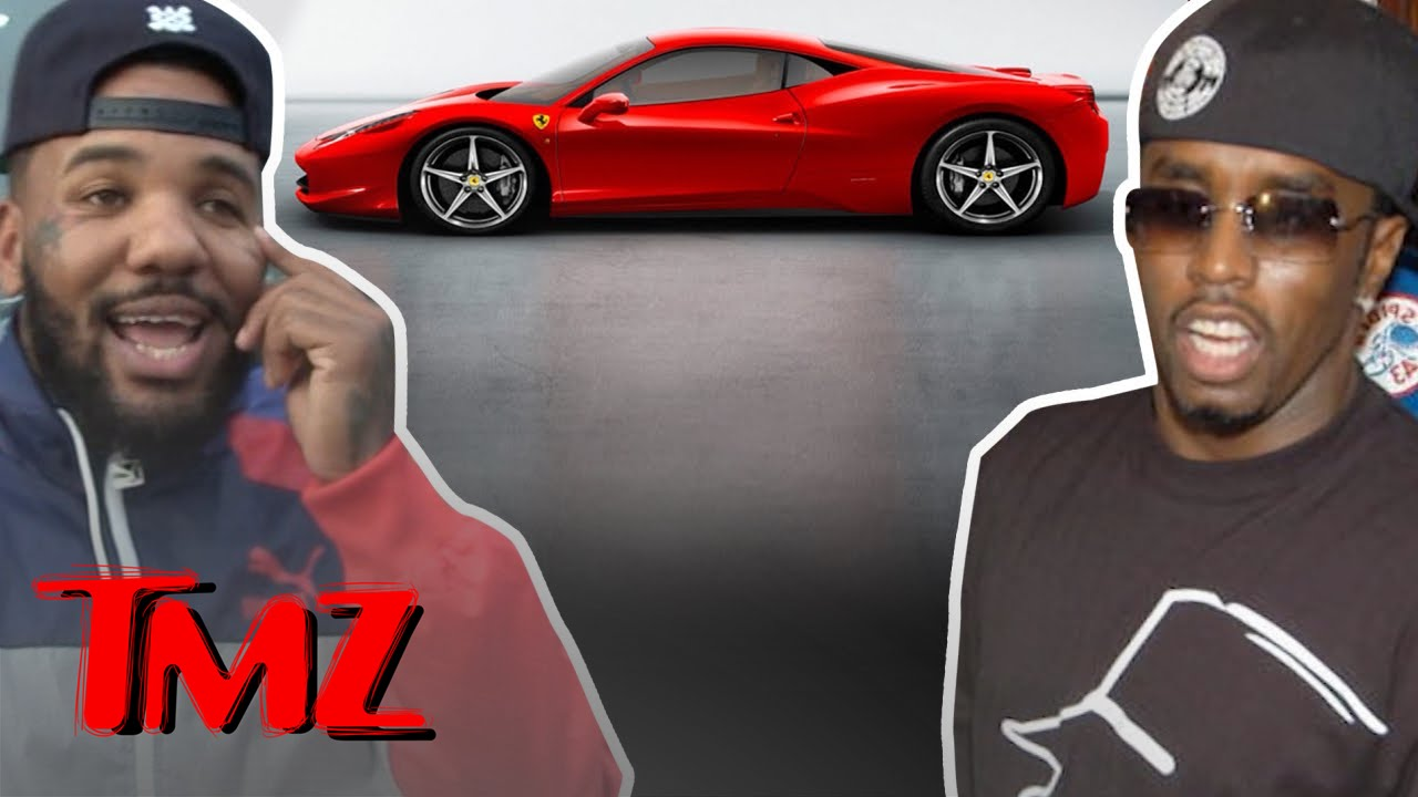 The Game Is Really Really Good At Showing Gratitude | TMZ 1