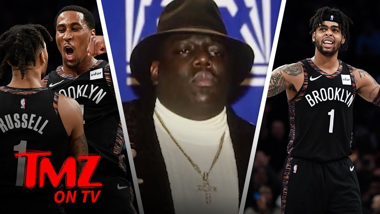 Brooklyn Nets Accused of Jacking Coogi Design for Biggie Tribute | TMZ TV 4