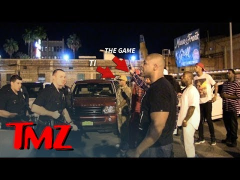 Game and T.I. In INTENSE Standoff With LAPD After Fight | TMZ 4