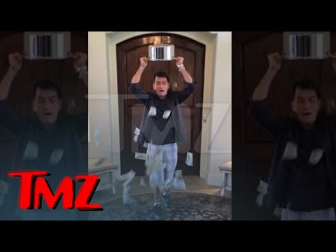 Charlie Sheen -- Ice Bucket Challenge with a BIG Twist | TMZ 3
