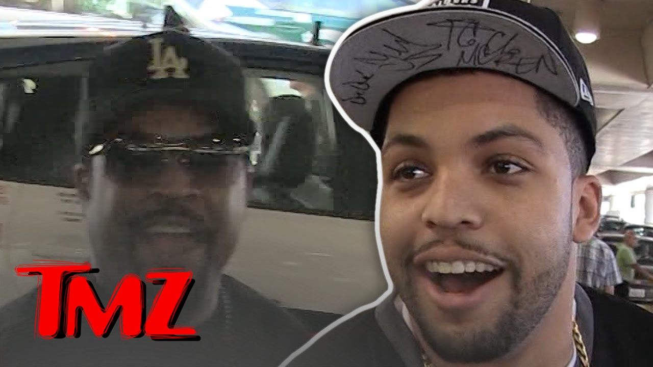 Ice Cube Wants His Son To Have The Spotlight Now! | TMZ 11