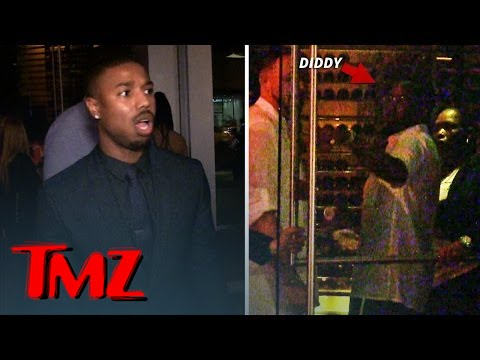 Michael B. Jordan -- DENIED At Diddy BET After-Party | TMZ 5