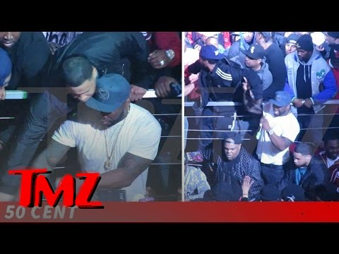 50 Cent Keeps Cool (Mostly) As Club Gig Gets Violent | TMZ 4