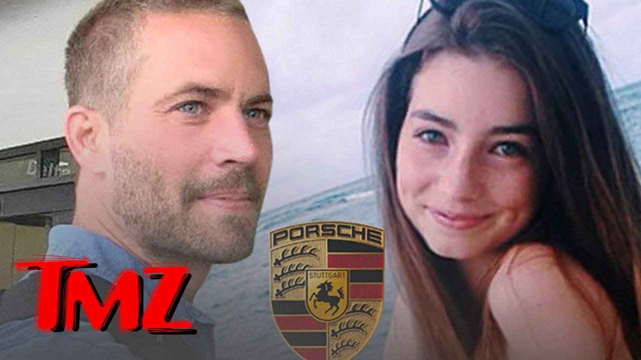 Paul Walker's Daughter Sues Porsche, He was Burned Alive in Faulty Car | TMZ 3