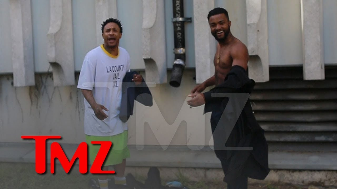 Orlando Brown Swaps Inmate Clothes for a Suit After Released from Jail | TMZ 4