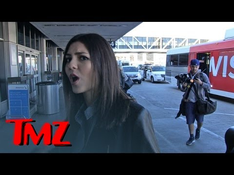 Victoria Justice -- It's Not My Fault 'Victorious' Got Cancelled | TMZ 4