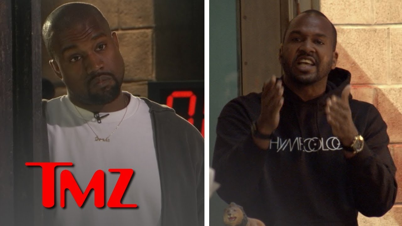 Kanye West's Rant In TMZ Office (Extended Cut) | TMZ 2
