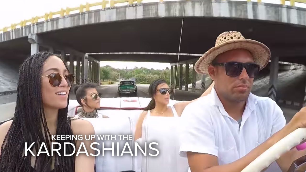 KUWTK | Should Kim & Kourtney Worry About Zika Virus in Cuba? | E! 3