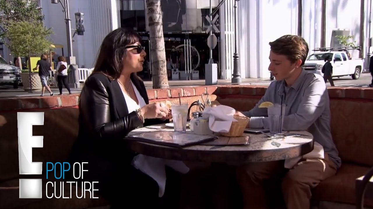 Marki Costello Gossips With Her Son | Drama Queen | E! 1