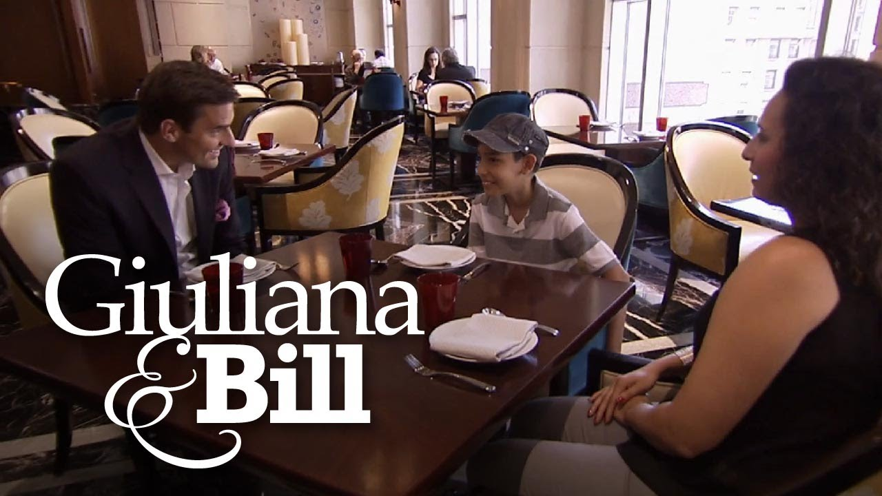 Bill Meets With Young Cancer Survivor | Giuliana & Bill | E! 4
