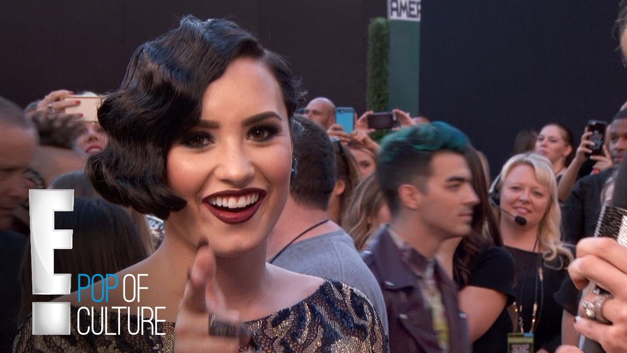 Demi Lovato Goes Retro Chic at 2015 AMAs 4