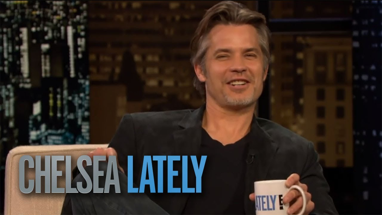 Chelsea and Timothy Olyphant Duke It Out | Chelsea Lately 4