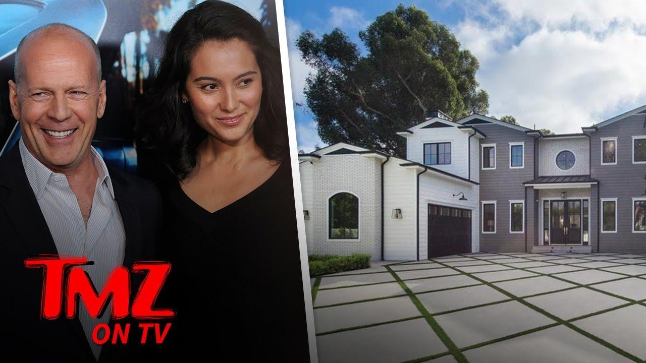 Bruce Willis & Wife Emma Heming Buy Gorgeous Brentwood Estate | TMZ TV 4