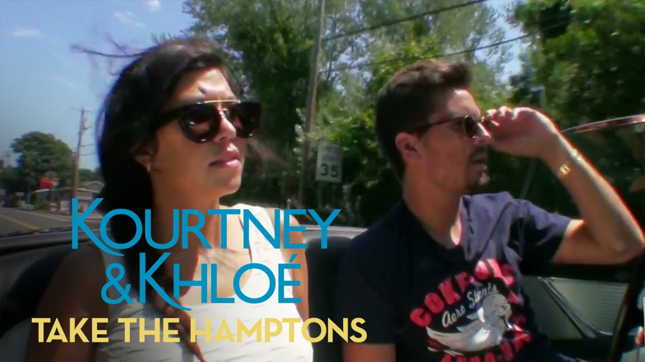 Scott Disick Drives Down Memory Lane | Kourtney & Khloé Take the Hamptons | E! 3