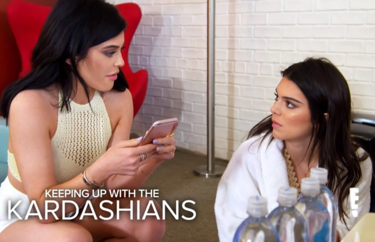KUWTK | Rob Re-Gifts Kendall's Present to Blac Chyna | E! 1