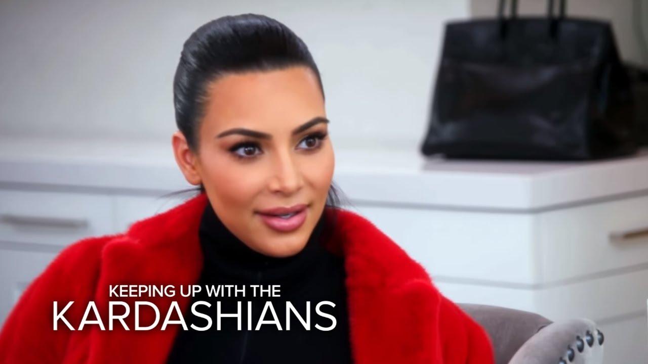 KUWTK | Kris Jenner Kicking Kim Kardashian and Kanye Out? | E! 5
