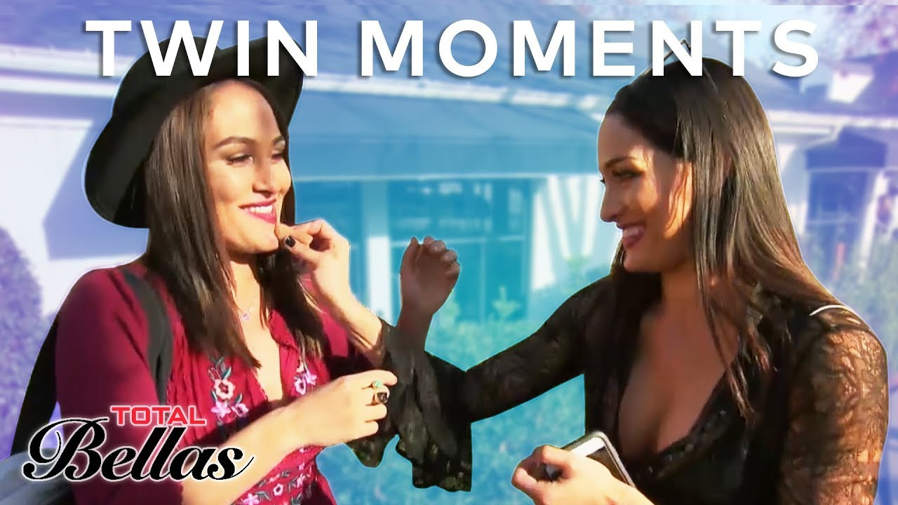 Most Relatable Brie & Nikki Bella Twin Moments | Total Bellas | E! 4