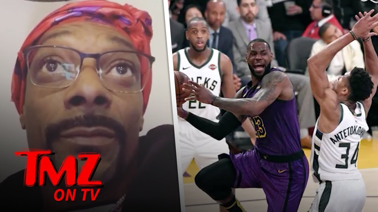Snoop Dogg On Lakers, 'Get a Slave Ship' and Get 'Em 'Outta Here' | TMZ TV 1