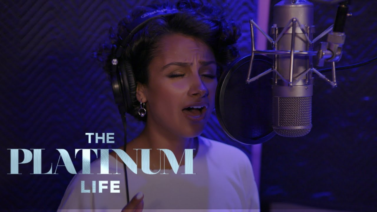 Nazanin Mandi Gets Nervous Stepping Back into the Studio | The Platinum Life | E! 5