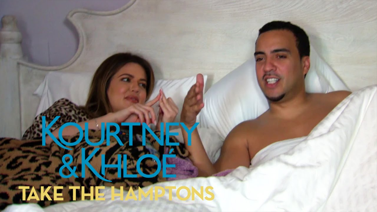 Who Stole French Montana's Pet Monkey's Name? | Kourtney & Khloé Take the Hamptons | E! 5