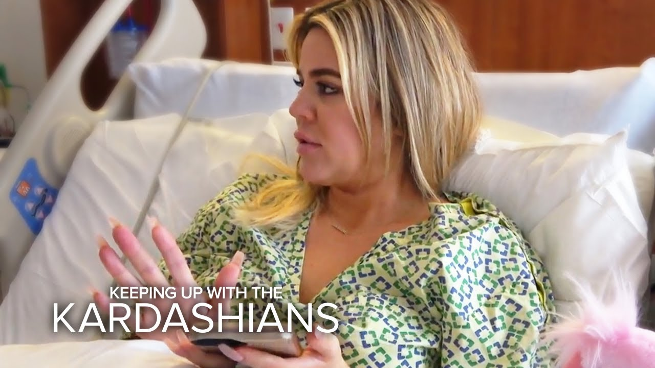 Khloe Kardashian Gives Birth In The Middle Of Tristan Scandal | KUWTK | E! 2