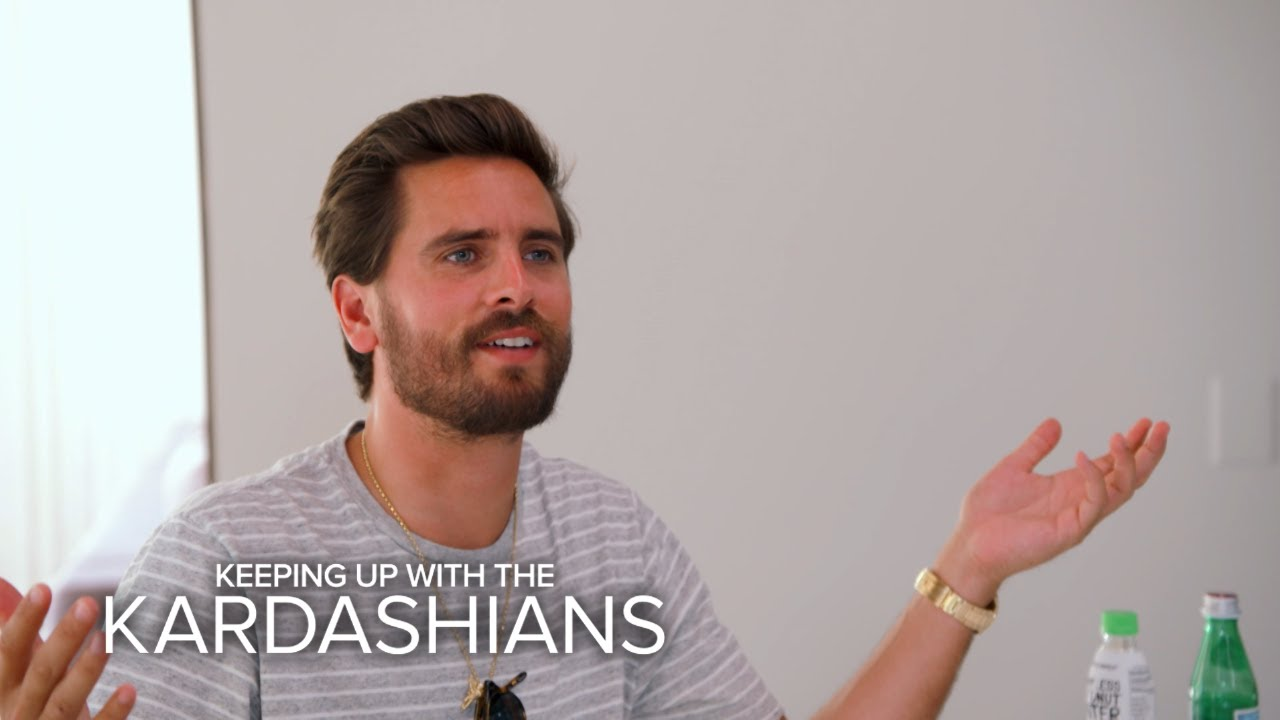 KUWTK | Scott Gets Upset Over Being Uninvited to Khloe K.'s Party | E! 4