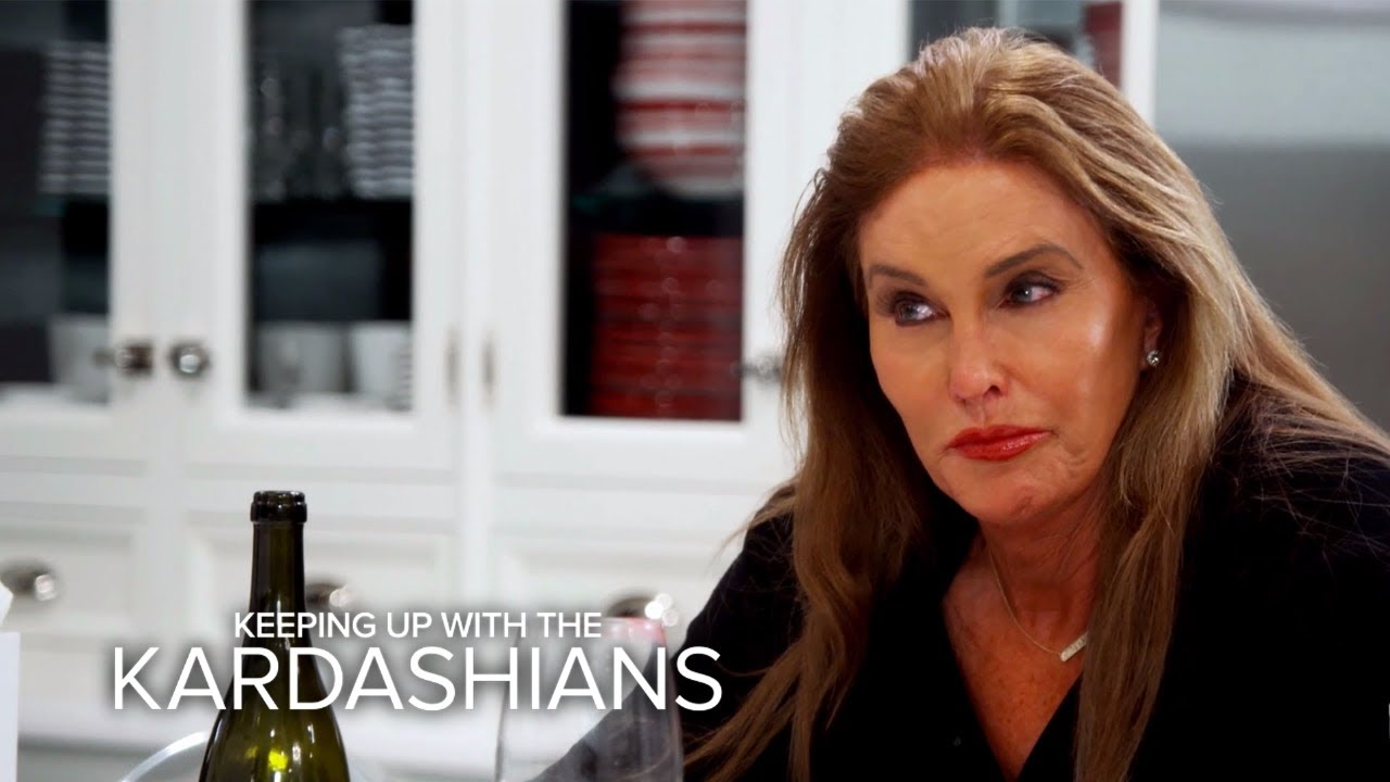 KUWTK | Caitlyn and Kris Jenner Try to Put the Past Behind Them | E! 4