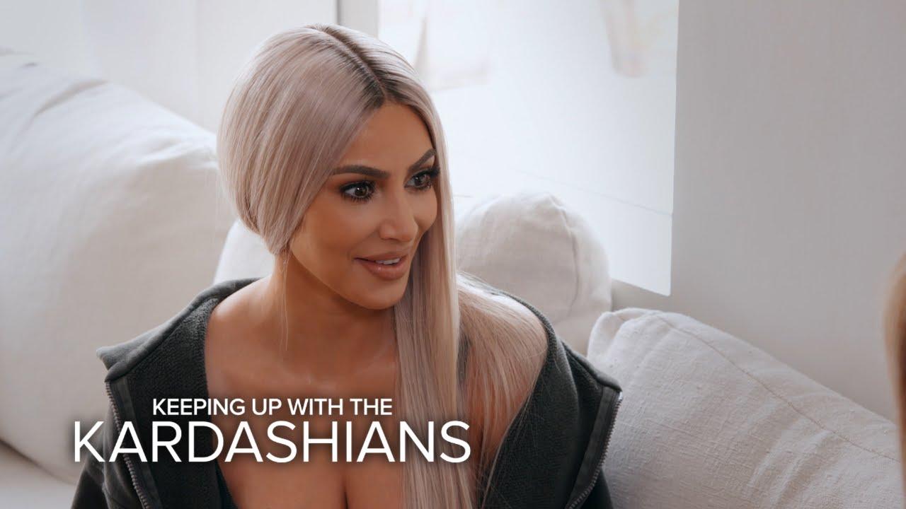 KUWTK | Kim Kardashian Reveals Scott Wants Another Baby With Kourtney | E! 4